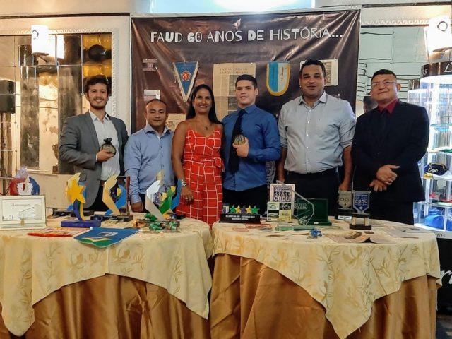 FAUD comemora sessenta anos de fundação com homenagens aos dirigentes, técnicos e atletas no 'Salão de Espelhos' do Atlético Rio Negro Clube