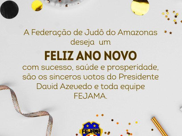 FEJAMA deseja a todos um Feliz Ano Novo