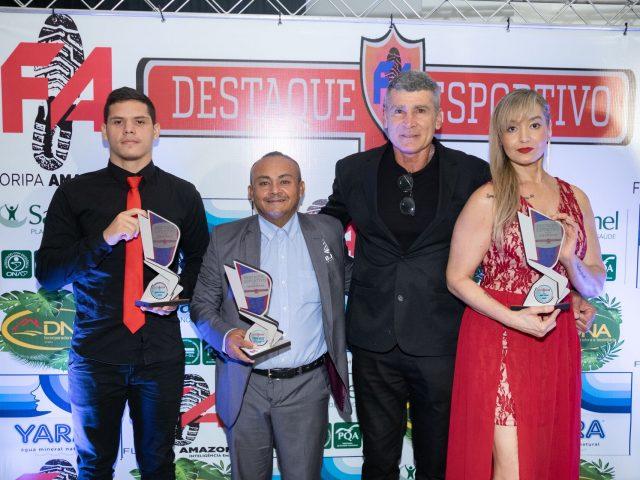 Presidente da FEJAMA conquista prêmio de 'Empreendedorismo e Gestão Esportiva' na cerimônia organizado pela Agência Floripamazonas- F.A