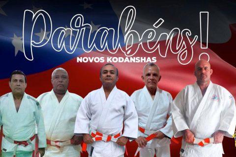 Confederação Brasileira de Judô – CBJ promove senseis amazonenses a categoria de Kodanshas