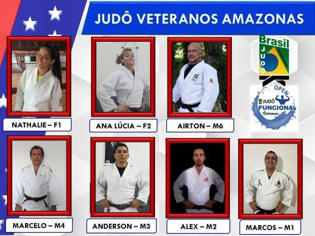 Sete amazonenses participaram do 'Open de Judô Funcional Veteranos' que reuniu 256 atletas e participação de 21 Estados