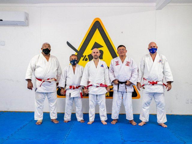 ACOPAJAM realiza Seminário Técnico de Judô com presença do Kodansha Marcos Elias Mercadante no polo do Parque de Laranjeiras