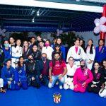 Associação Leal de Judô, promoveu um treino aberto em campanha ao combate do câncer de mama
