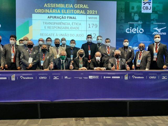 FEJAMA participa de Assembleia Geral Ordinária Eletiva da CBJ 2021/2024